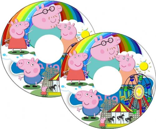 PEPPA PIG Wheelchair Spoke Guard Sticker Skins